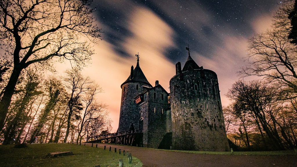 Castell Coch in South Wales