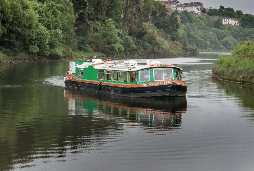 Swansea Community Boat - Copper Jack