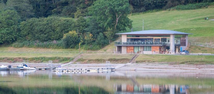 Llandegfedd Reservoir in Monmouthshire