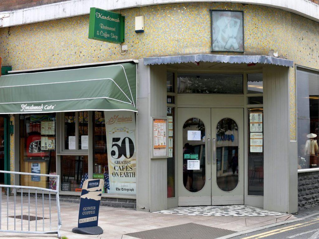 Kardomah Cafe in Swansea